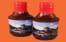 the sweet heat sensation of raspberry chipotle BBQ sauce great on anything and everything